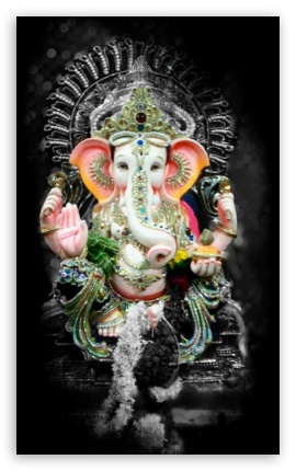 Lord Ganesh 4k Hd Desktop Wallpaper For Tablet Smartphone
