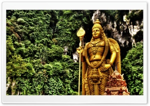 Lord Murugan, Malaysia HD Wide Wallpaper for Widescreen
