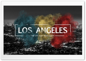 Los Angeles HD Wide Wallpaper for Widescreen