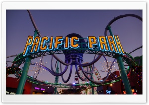 Los Angeles   Pacific Park HD Wide Wallpaper for Widescreen