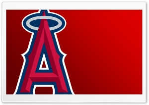 Los Angeles Angels of Anaheim Logo HD Wide Wallpaper for Widescreen