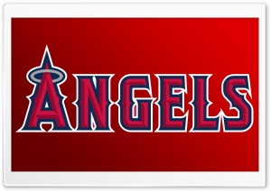 Los Angeles Angels Of Anaheim Logo   Baseball HD Wide Wallpaper for 4K UHD Widescreen desktop & smartphone