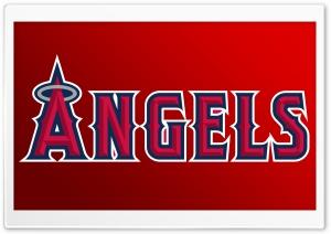 Los Angeles Angels Of Anaheim Logo   Baseball HD Wide Wallpaper for 4K UHD Widescreen desktop & smartphone