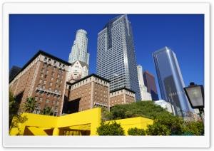Los Angeles, Downtown HD Wide Wallpaper for Widescreen