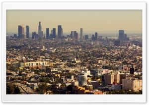 Los Angeles, Hollywood, Beverly Hills HD Wide Wallpaper for Widescreen