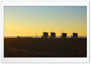 Los Angeles, Venice Beach HD Wide Wallpaper for Widescreen