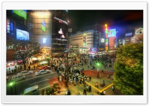 Lost in Tokyo HD Wide Wallpaper for Widescreen