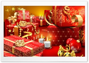 Lots Of Christmas Presents HD Wide Wallpaper for Widescreen