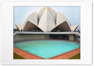 Lotus Temple_India Ultra HD Wallpaper for 4K UHD Widescreen desktop, tablet & smartphone