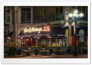 Lou and Mickey's at the Gaslamp HD Wide Wallpaper for Widescreen