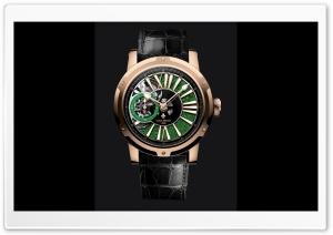 Louis Moinet Watch Metropolis Magic Green Ultra HD Wallpaper for 4K UHD Widescreen desktop, tablet & smartphone