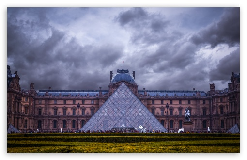 Louvre Museum, Paris, France HD wallpaper for Wide 16:10 5:3 Widescreen WHXGA WQXGA WUXGA WXGA WGA ; HD 16:9 High Definition WQHD QWXGA 1080p 900p 720p QHD nHD ; Standard 4:3 3:2 Fullscreen UXGA XGA SVGA DVGA HVGA HQVGA devices ( Apple PowerBook G4 iPhone 4 3G 3GS iPod Touch ) ; iPad 1/2/Mini ; Mobile 4:3 5:3 3:2 16:9 - UXGA XGA SVGA WGA DVGA HVGA HQVGA devices ( Apple PowerBook G4 iPhone 4 3G 3GS iPod Touch ) WQHD QWXGA 1080p 900p 720p QHD nHD ;