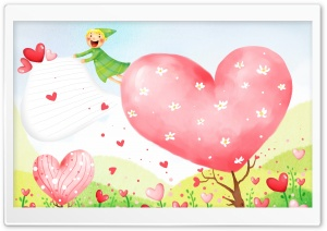 Love and Happiness HD Wide Wallpaper for Widescreen