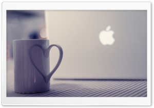 Love Apple HD Wide Wallpaper for Widescreen