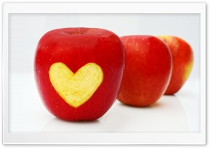Love Apples HD Wide Wallpaper for Widescreen
