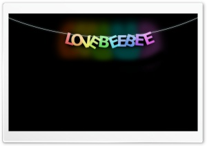 Love Bee Bee HD Wide Wallpaper for Widescreen