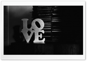 Love Black And White HD Wide Wallpaper for Widescreen