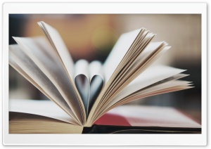 Love Book HD Wide Wallpaper for Widescreen