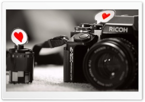 Love Camera HD Wide Wallpaper for Widescreen