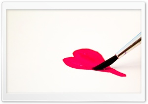 Love For Paint HD Wide Wallpaper for Widescreen