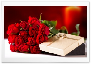 Love Gift HD Wide Wallpaper for Widescreen
