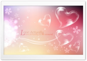 Love Is All Around HD Wide Wallpaper for Widescreen