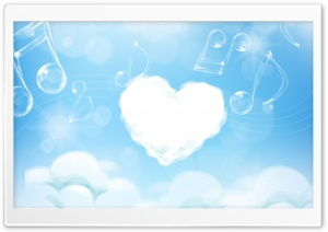 Love Is In The Sky HD Wide Wallpaper for Widescreen