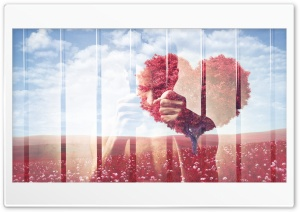 Love is Sad Ultra HD Wallpaper for 4K UHD Widescreen desktop, tablet & smartphone