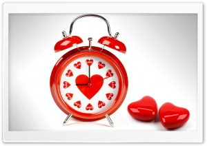 Love O'clock HD Wide Wallpaper for Widescreen