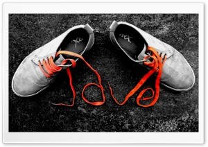 Love Shoes HD Wide Wallpaper for Widescreen
