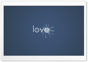 Love Splash HD Wide Wallpaper for Widescreen