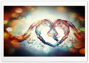 Love Symbol HD Wide Wallpaper for Widescreen