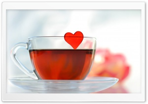 Love Tea HD Wide Wallpaper for Widescreen