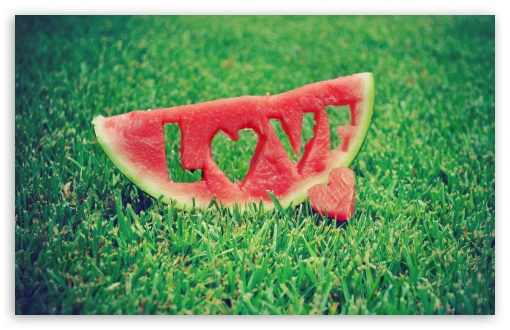 Love Watermelon HD wallpaper for Wide 16:10 5:3 Widescreen WHXGA WQXGA WUXGA WXGA WGA ; HD 16:9 High Definition WQHD QWXGA 1080p 900p 720p QHD nHD ; Standard 4:3 5:4 3:2 Fullscreen UXGA XGA SVGA QSXGA SXGA DVGA HVGA HQVGA devices ( Apple PowerBook G4 iPhone 4 3G 3GS iPod Touch ) ; Tablet 1:1 ; iPad 1/2/Mini ; Mobile 4:3 5:3 3:2 16:9 5:4 - UXGA XGA SVGA WGA DVGA HVGA HQVGA devices ( Apple PowerBook G4 iPhone 4 3G 3GS iPod Touch ) WQHD QWXGA 1080p 900p 720p QHD nHD QSXGA SXGA ; Dual 16:10 4:3 5:4 WHXGA WQXGA WUXGA WXGA UXGA XGA SVGA QSXGA SXGA ;