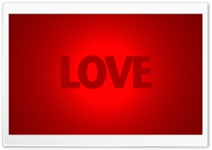 Love Word HD Wide Wallpaper for Widescreen