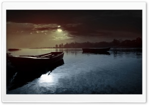 Lovely Evening HD Wide Wallpaper for Widescreen