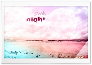 Lovely Night HD Wide Wallpaper for 4K UHD Widescreen desktop & smartphone