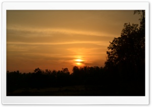 Lovely Sun Set HD Wide Wallpaper for Widescreen