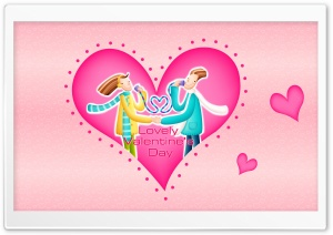 Lovely Valentine's Day HD Wide Wallpaper for Widescreen