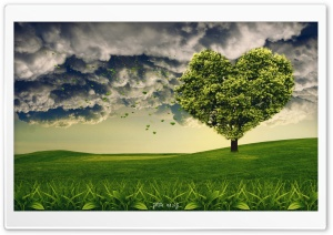 LoveTree HD Wide Wallpaper for Widescreen