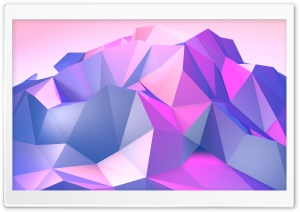 Low Poly Mountain Ultra HD Wallpaper for 4K UHD Widescreen desktop, tablet & smartphone