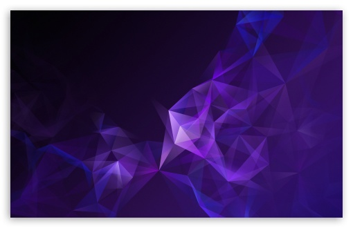 Low Poly Purple Abstract Art Ultra Hd Desktop Background