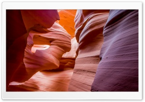 Lower Antelope Canyon HD Wide Wallpaper for 4K UHD Widescreen desktop & smartphone