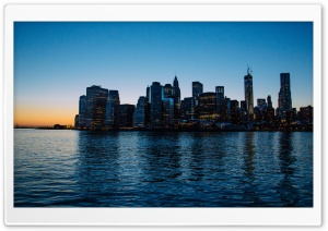 Lower Manhattan HD Wide Wallpaper for 4K UHD Widescreen desktop & smartphone