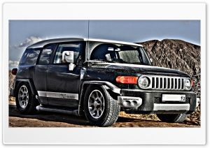 Lowride Fj Cruiser HD Wide Wallpaper for Widescreen