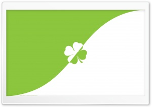 Lucky Clover HD Wide Wallpaper for Widescreen
