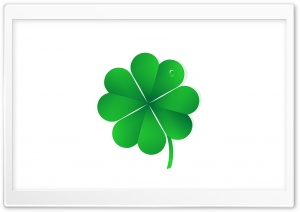 Lucky Four Leaf Clover Ultra HD Wallpaper for 4K UHD Widescreen desktop, tablet & smartphone