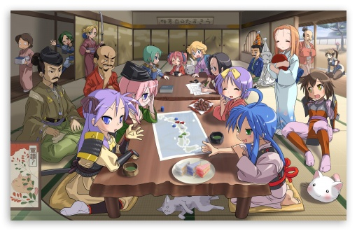 Lucky Star HD wallpaper for Wide 16:10 5:3 Widescreen WHXGA WQXGA WUXGA WXGA WGA ; HD 16:9 High Definition WQHD QWXGA 1080p 900p 720p QHD nHD ; Mobile 5:3 16:9 - WGA WQHD QWXGA 1080p 900p 720p QHD nHD ;