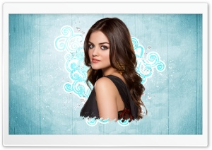Lucy Hale HD Wide Wallpaper for Widescreen