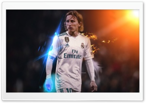 luka modric - Real Madrid HD Wide Wallpaper for 4K UHD Widescreen desktop & smartphone